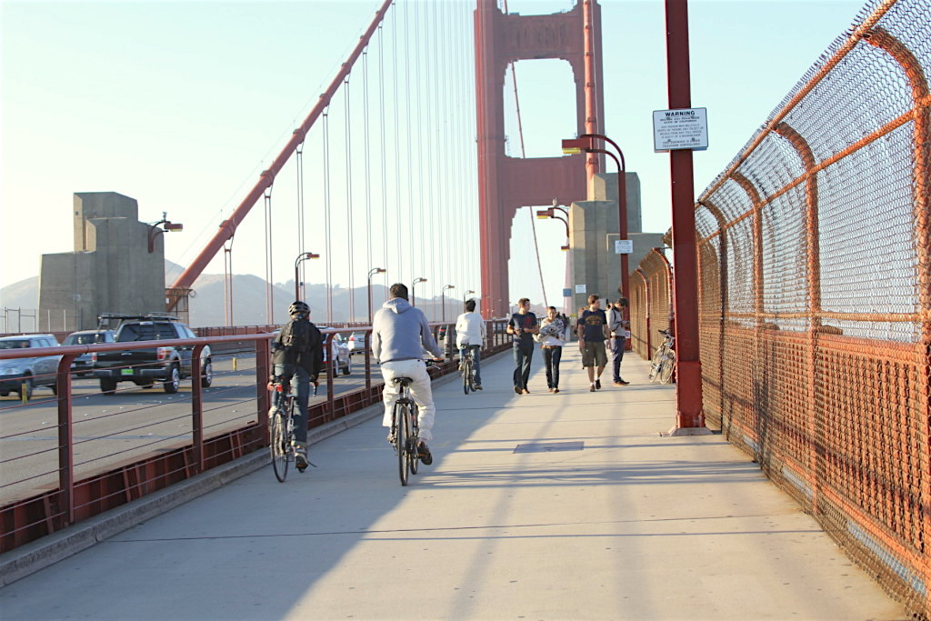 Biking the Bridge